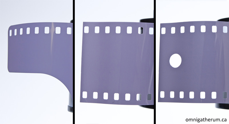 Film preparation steps