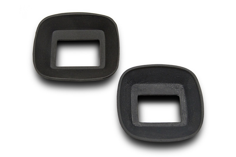 Original and replacement eyecup.